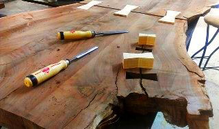 Urban Wood Furniture, Live Edge Furniture, Urban Lumber, Urban Sawmill