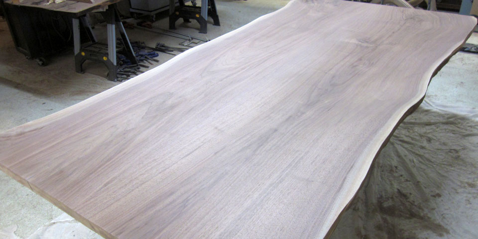 Walnut Sanded Top