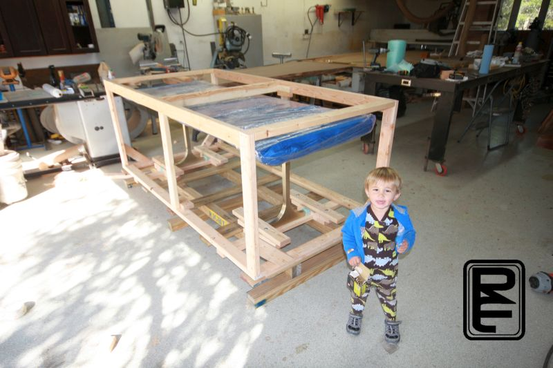 Dining Table Crating