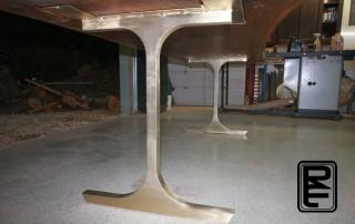 Solid Bronze Base Assembled