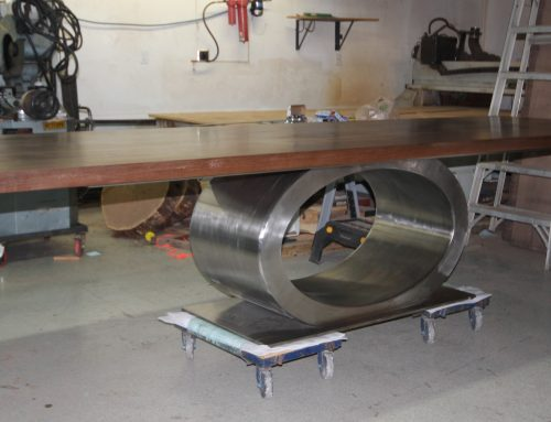 Elliptical Stainless Base