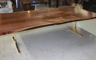 Bookmatch Walnut Table