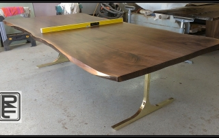 Walnut Dining Table, Texas Walnut Table