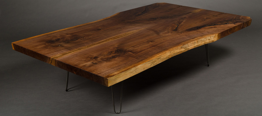 Texas Walnut Coffee Table
