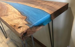 Live Edge River Table